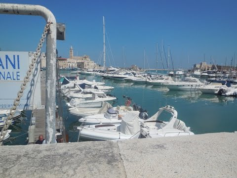 A Magnificent Day in Trani, Italy on the Adriatic Sea