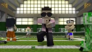 Minecraft пародия на клип опа гамна стаил