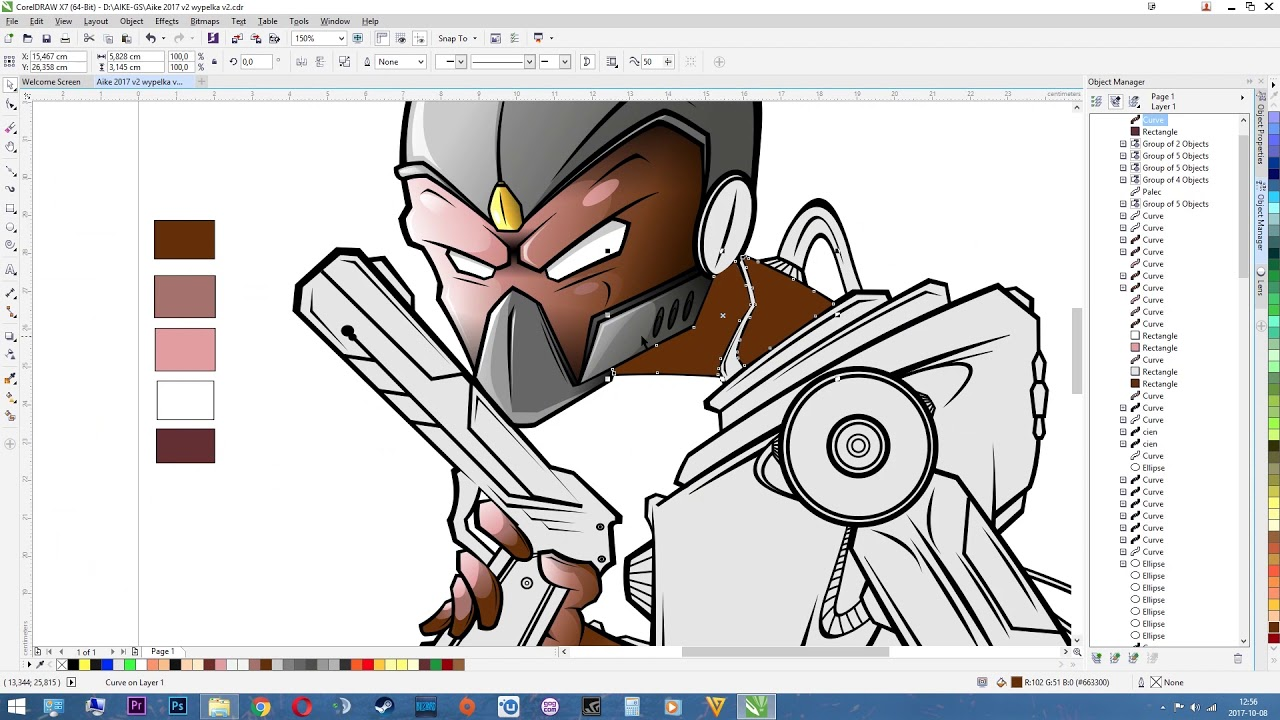 ✔️Aike Corel Draw X7  19 working hours in 20 minutes✔️