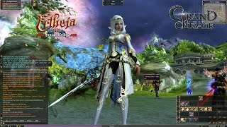 Grand Crusade Lineage 2  ALL New Armors on ALL Races - Lineage2Ertheia