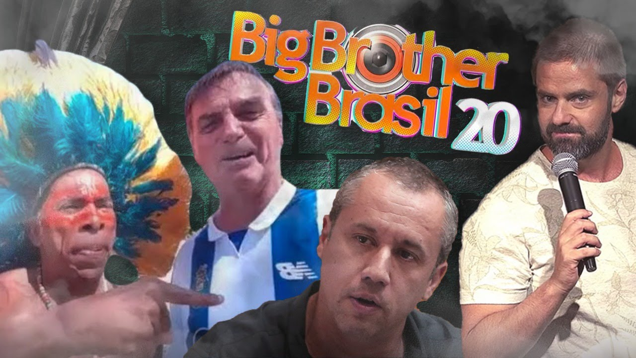 Fábio Rabin - BBB 2020 / Bolsonaro e os Índios / Nazista na Cultura /  Moro no Insta