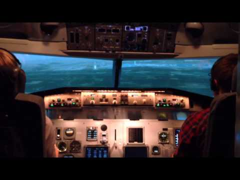 Full flight simulator Aviation Academy Austria