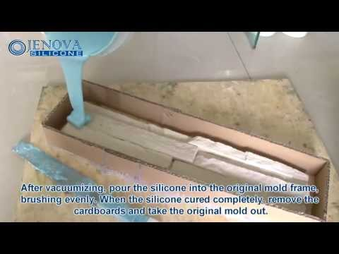 How it's Made Artificial Stone by Silicone rubber