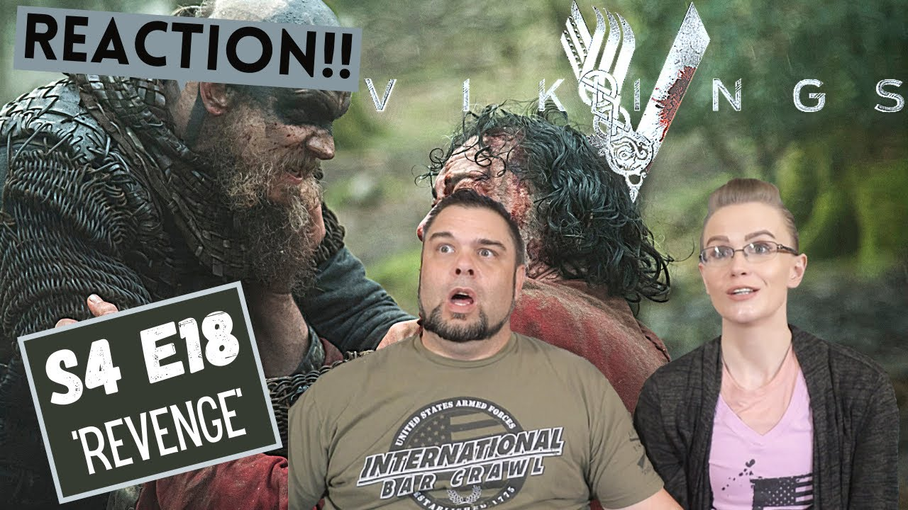 Vikings   S4 E18 'Revenge'   Reaction   Review