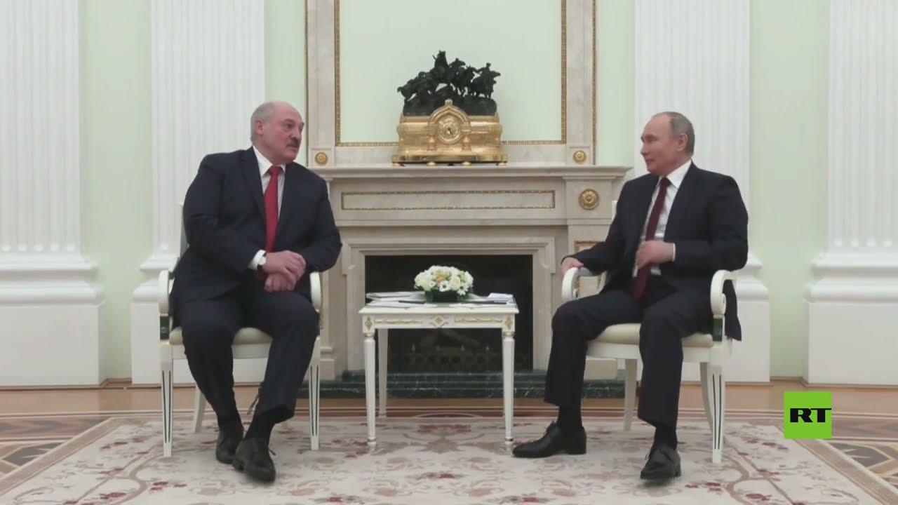 الرئيس بوتين يستقبل نظيره البيلاروسي لوكاشينكو في الكرملين  - نشر قبل 47 دقيقة