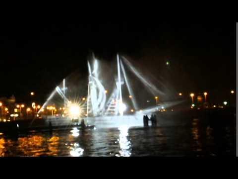 Ghost Ship - Amsterdam Light Festival 2014/2015