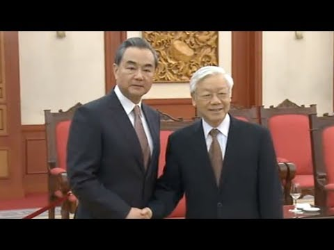 Chinese FM meets with Vietnamese Communist Party General Secretary