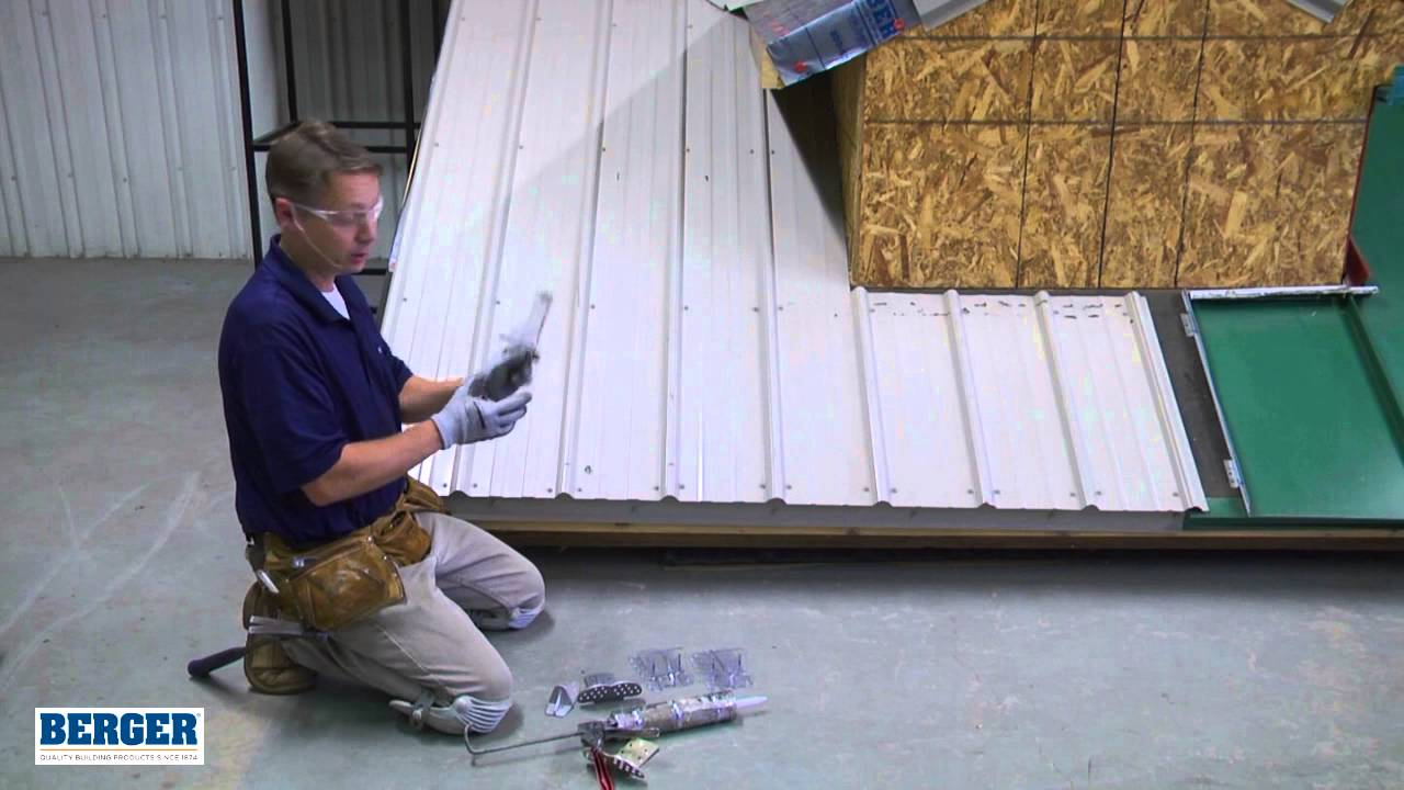Installing Snow Guards For Exposed Fastener Metal Roofing   YouTube