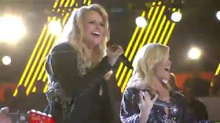 Carrie Underwood & Miranda Lambert - Travelin' Band (ACM Awards 2010)