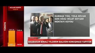 REFERENDUM 2017 - BAŞBAKAN BİNALİ YILDIRIM BALKON KONUŞMASI.16.04.2017