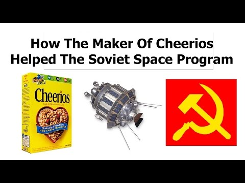 How The Maker of Cheerios 'Helped' The Soviet Space Program