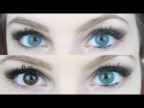 TTDeye Colored Contact Lenses Review! | Alyssa Nicole |