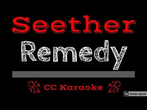 Seether • Remedy (CC) [Karaoke Instrumental Lyrics]