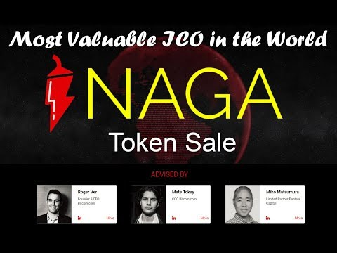 Roger Ver Presents Naga Token Pre-ICO start with 30% Bonus Now price is Just 1$