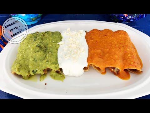 Tacos Dorados Tricolor