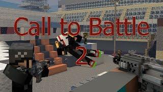 Обзор мода Call to Battle 2 (сетевая 2 мировая война в майнкрафте)
