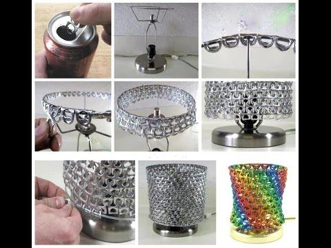 35 ideas de manualidades con anillas de latas youtube - Manualidades faciles con latas ...