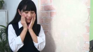 新原里彩ちゃん、告白セリフシーンのオフショット(^^) http://profile.a...