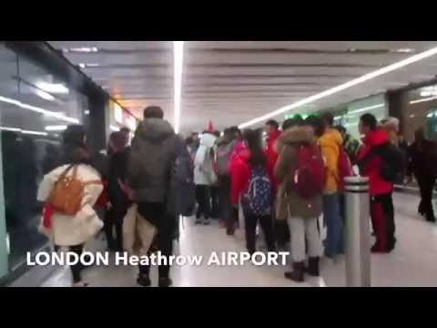 From Philippine airport to London airport (going back home to UK) 2015