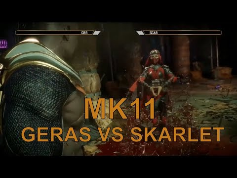 Mortal Kombat 11 - Grr (Geras)  vs Scar (SKarlet) -  MK11 Exhibition match thumbnail