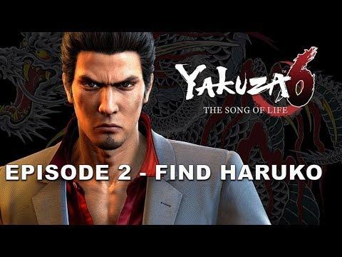 YAKUZA 6 SONG OF LIFE: EPISODE 2 - FIND HARUKO | HipHopGamer Live