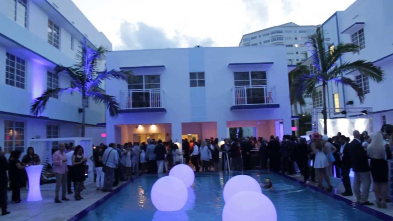 pestana south deco hotel inauguration event
