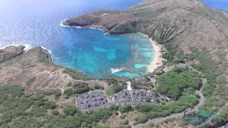 Phantom 4 Hawaii Island Beach Volcano Drone Flight Video 2016