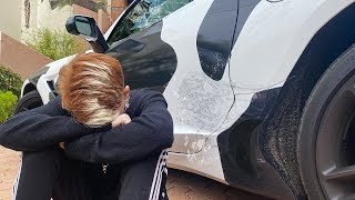 MY FIRST CAR CRASH..