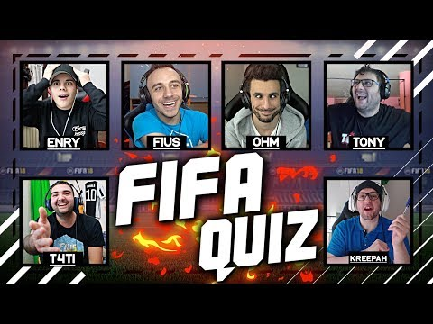 QUANTE NE SAI SU FIFA? FIFA QUIZ! w/Ohm, Enry, Tony, Kreepah, T4ti