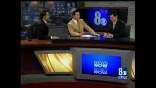 12/12/2009 Chris Saldaña, KLAS-TV 8 News Now, Las Vegas, Dec.12, 2009