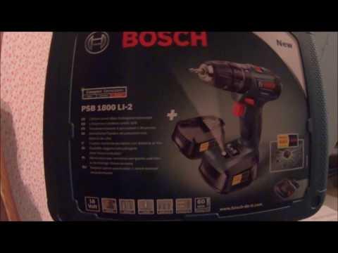 Отзывы Bosch PSR 14,4 LI-2 2011  x1 Case