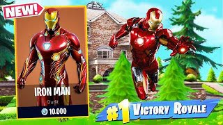 I BOUGHT the IRON MAN's SKIN at FORTNITE!