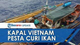 Kapal Vietnam Pesta Curi Ikan, Pukat Gandeng Ditebar