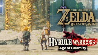 Hyrule Warriors Age Of Calamity Zelda Breath Of The Wild Map Comparison Details Youtube