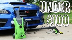 BEST PRESSURE WASHER UNDER $100!!