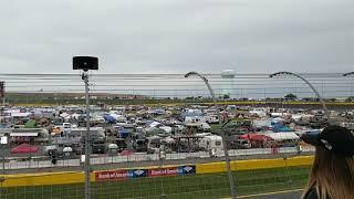 F-15 Flyover 2018 Coca-Cola 600 NASCAR at Charlotte Motor Speedway Concord NC