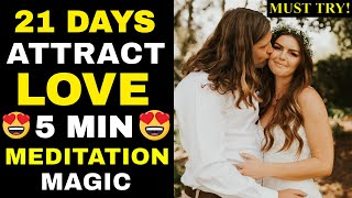 FAST RESULT✅ LAW OF ATTRACTION MEDITATION To Attract Your Soulmate & Manifest Love