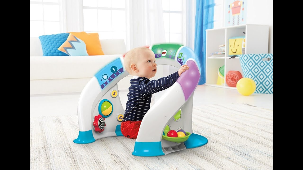 c2a679eb5 Fisher-Price Bright Beats Smart Touch Play Space by Fisher-Price ...