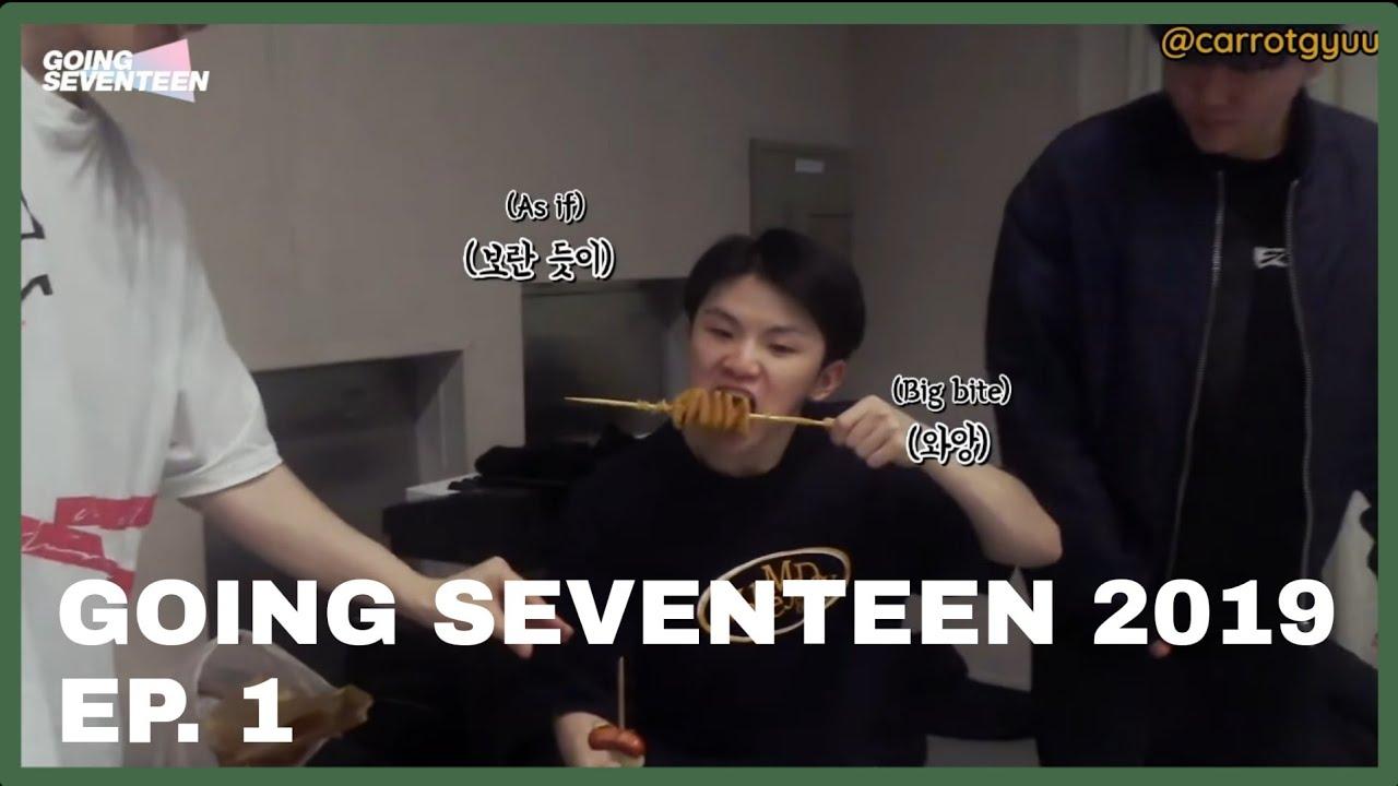 [ENG SUB] 세븐틴 GOING SEVENTEEN 2019 Ep. 1 - YouTube