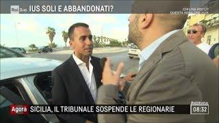 Sicilia, il tribunale sospende le regionarie - Agorà 13/09/2017