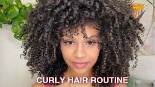 How To: Style, Diffuse, Refresh Curly Hair