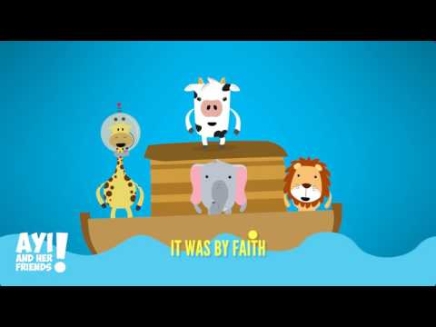 BY FAITH - AYI THE COW -CHRISTIAN SONGS FOR KIDS
