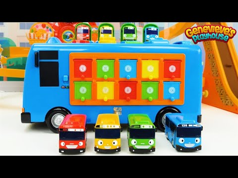 Car Toys for Toddlers - Tayo the Little Bus Amusement Park Playset!