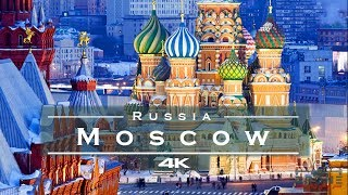Moscow, Russia 🇷🇺 / Москва, Россия 🇷🇺 - by drone [4K]