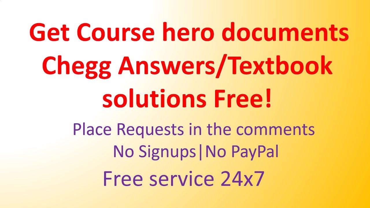free sites like course hero