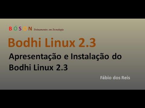 Bodhi Linux com Enlightenment - Apresentação e Instalação