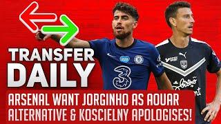 Arsenal Want Jorginho As Aouar Alternative & Koscielny Apologises! | AFTV Transfer Daily