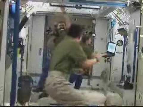 Dancing tani in the space.