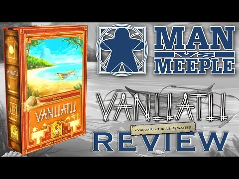 Vanuatu 2nd Edition (Quined Games) Review by Man Vs Meeple