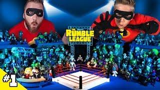 The Incredibles vs Wolverine & Team Beast! Rumble League Tournament #1